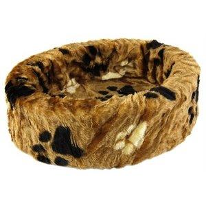 Petcomfort Petcomfort hondenmand bont bruin grote poot