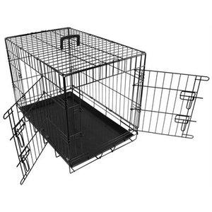 Doginox Doginox bench 2-deurs zwart