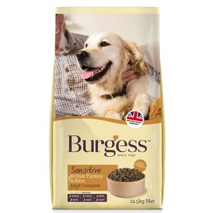 Burgess Burgess dog sensitive kalkoen / rijst