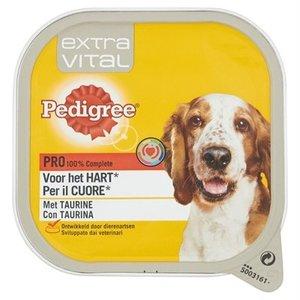 Pedigree 10x pedigree alu extra vital voor hart