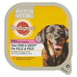 Pedigree 10x pedigree alu extra vital voor huid/vacht