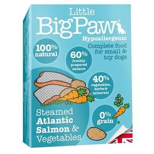 Little big paw 7x little big paw gestoomde atlantische zalm / groenten