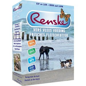 Renske Renske vers vlees voeding hond vakantie