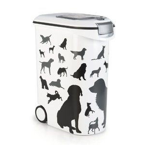 Curver Curver voedselcontainer opdruk hond silhouette