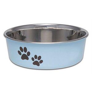 Loving pets Loving pets voer/drinkbak bella murano lichtblauw