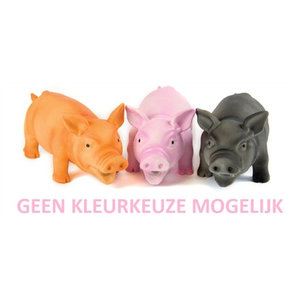 Doggy dolittles Doggy dolittles piglet latex zwijn assorti
