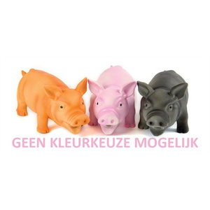 Doggy dolittles Doggy dolittles piggy latex zwijn assorti