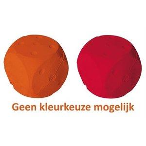 Rubb'n'roll Rubb'n'soft dobbelsteen roze, oranje of blauw assorti