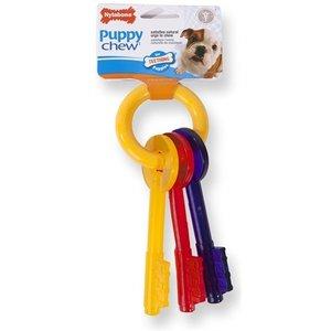 Nylabone Nylabone puppy chew bijtsleutels baconsmaak