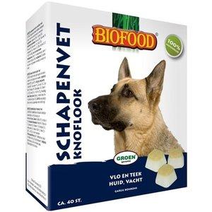 Biofood Biofood schapenvet maxi bonbons knoflook