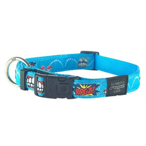 Rogz for dogs Rogz for dogs jellybean halsband comic turquoise