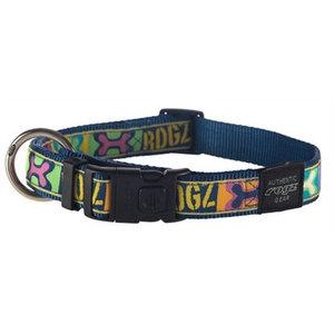 Rogz for dogs Rogz for dogs jellybean halsband pop art navy