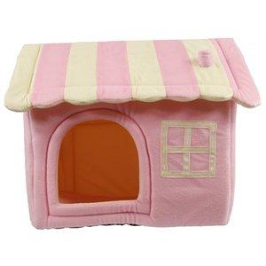 Petcomfort Petcomfort honden/kattenhuis dream village roze