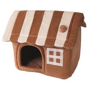 Petcomfort Petcomfort honden/kattenhuis dream village beige/bruin