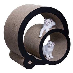 Canadiancat company Canadiancat company krabpaal cats grove xxl zwart / wit