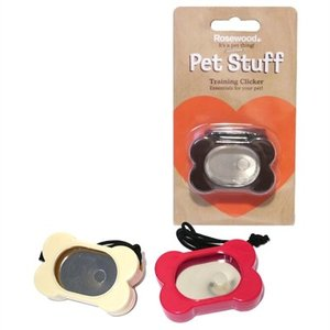 Rosewood Rosewood pet stuff training clicker assorti