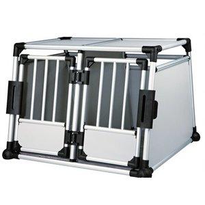 Trixie Trixie transportbox dubbel aluminium