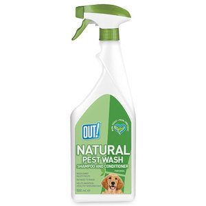 Out! Out! natural pest wash shampoo and conditioner spray