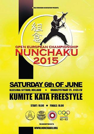 WNA Open Europees kampioenschap nunchaku-do 2015