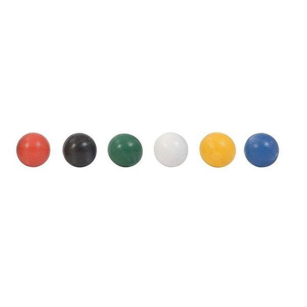 Ubergames Meester Croquet set, 6 persoons, ultieme set, 16 mm dikke poorten, 16 oz kunststof ballen, absoluut top.