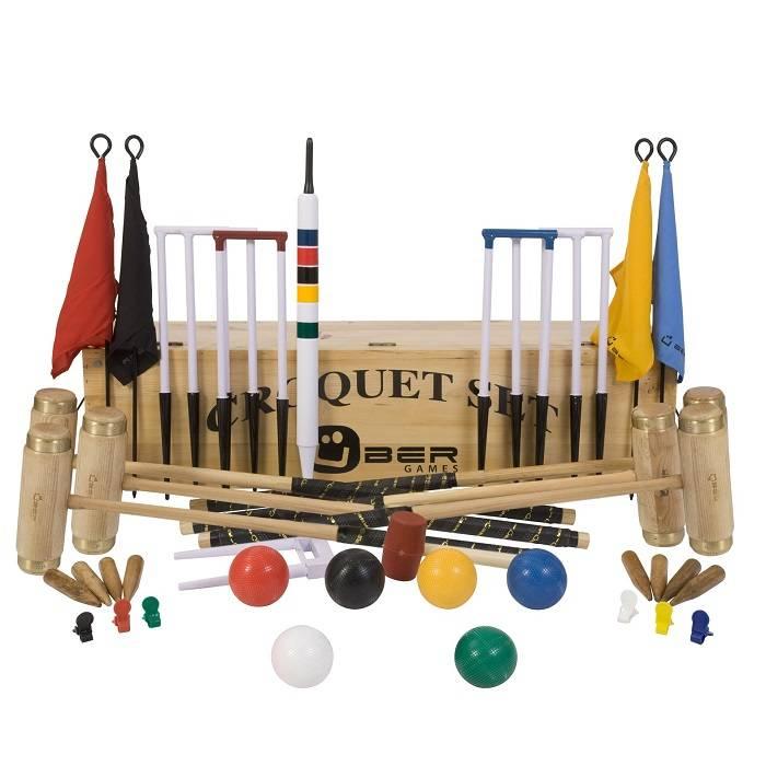 Croquet sets, uniek in kwaliteit, de beste serie op de markt