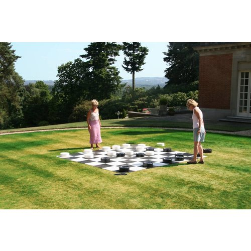 Ubergames XXXL Giga Damspel (Checkers, 8x8 vakken)