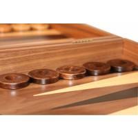 Ubergames Exclusieve backgammon set, Handgemaakt, zwart