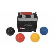 Croquet ballen, 4 stuks, elk 355 gram, Kunststof