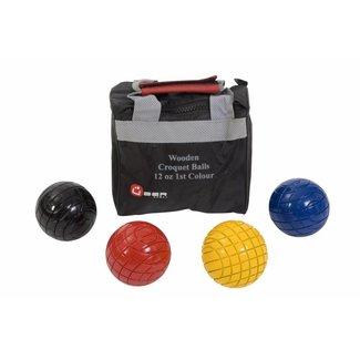 Ubergames Family Croquet set ballen, 7.2 cm doorsnee