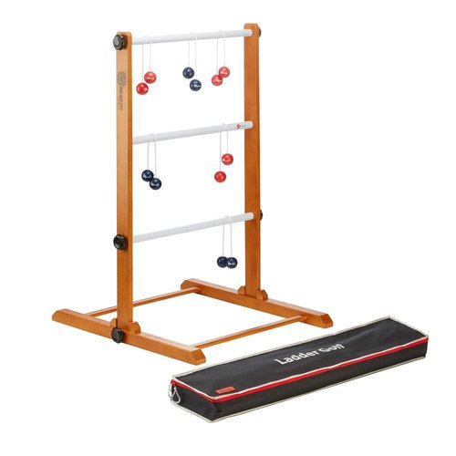 Ubergames Prof. Laddergolf Spinladder set Navy & Rode Golf bolas