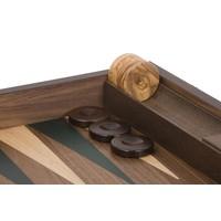 Ubergames Exclusieve backgammon set, Handgemaakt, groen