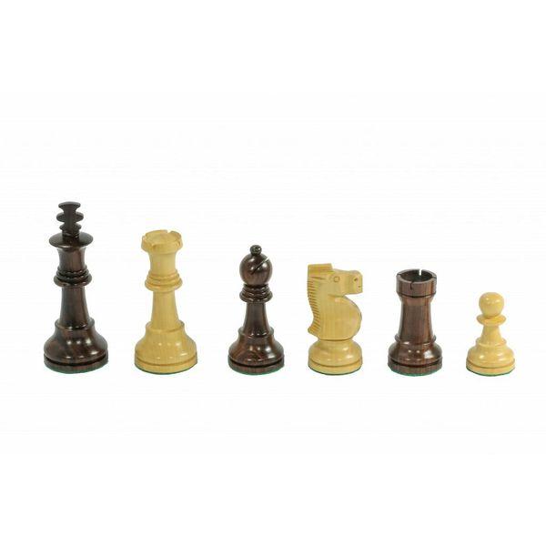 Meesterspel Antiek Schaak Thema Schaakspel, bord met stukken