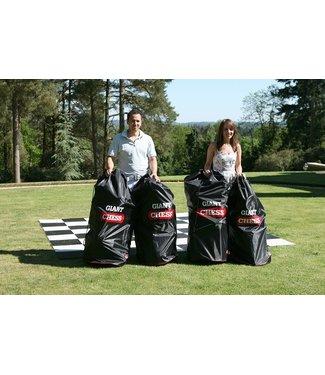 4x Schaak-tassen voor de 64 cm set