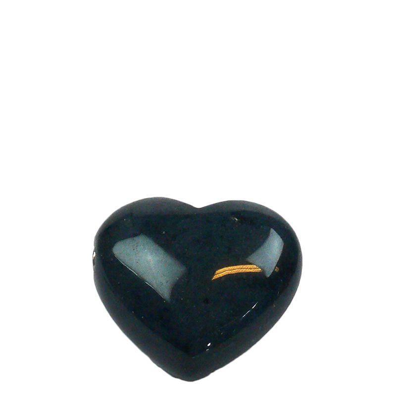 Hart urn mini - Dumorturiet edelsteen