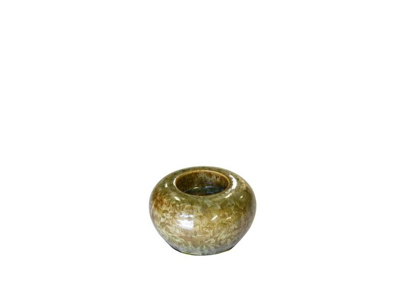 Beryl mini urn met licht - keramiek