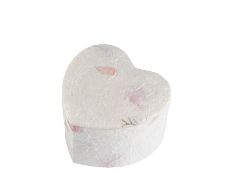 Hart urn earth met bloeminleg - BIO
