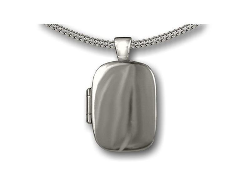Ashanger klassiek medallion - 925 Sterling zilver