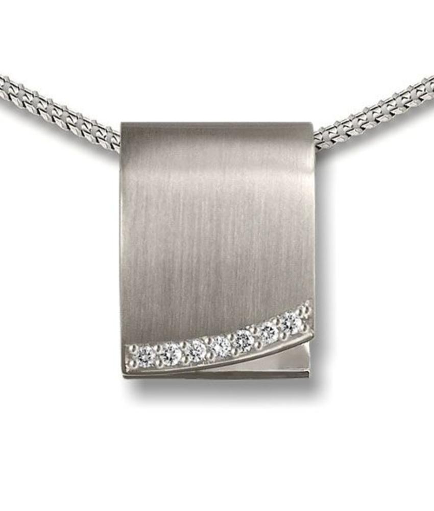 Ashanger aangrijpend - 925 Sterling zilver met zirkonia