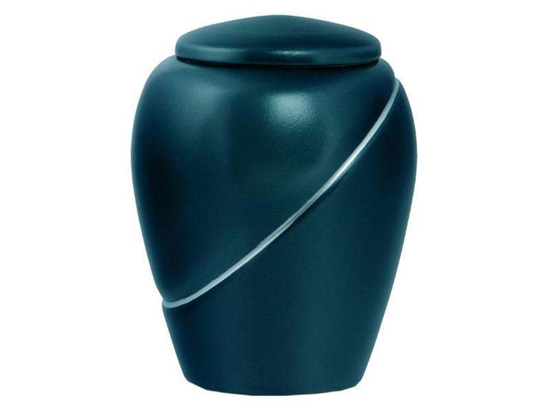 Eco urn thaïs groen zilver - bio
