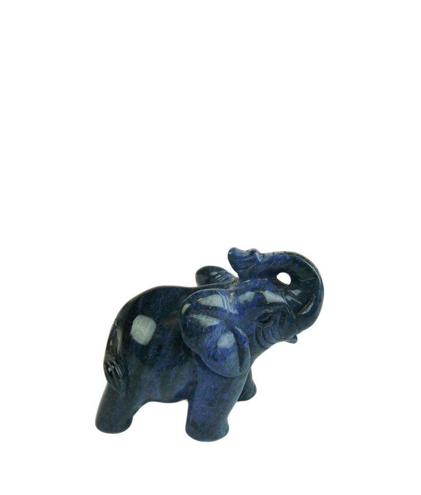 Mini urn olifant - dumorturiet