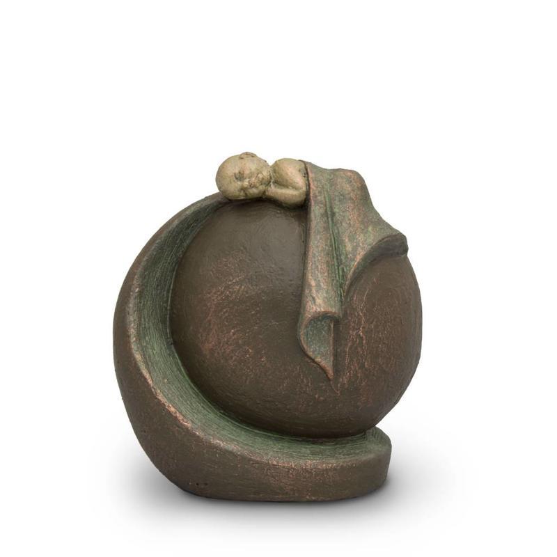 Baby urn vredige rust - keramiek