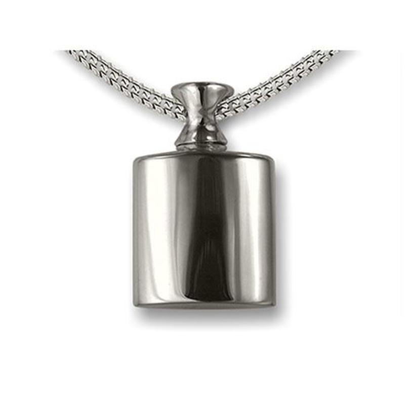 Ashanger flesje - 925 Sterling zilver