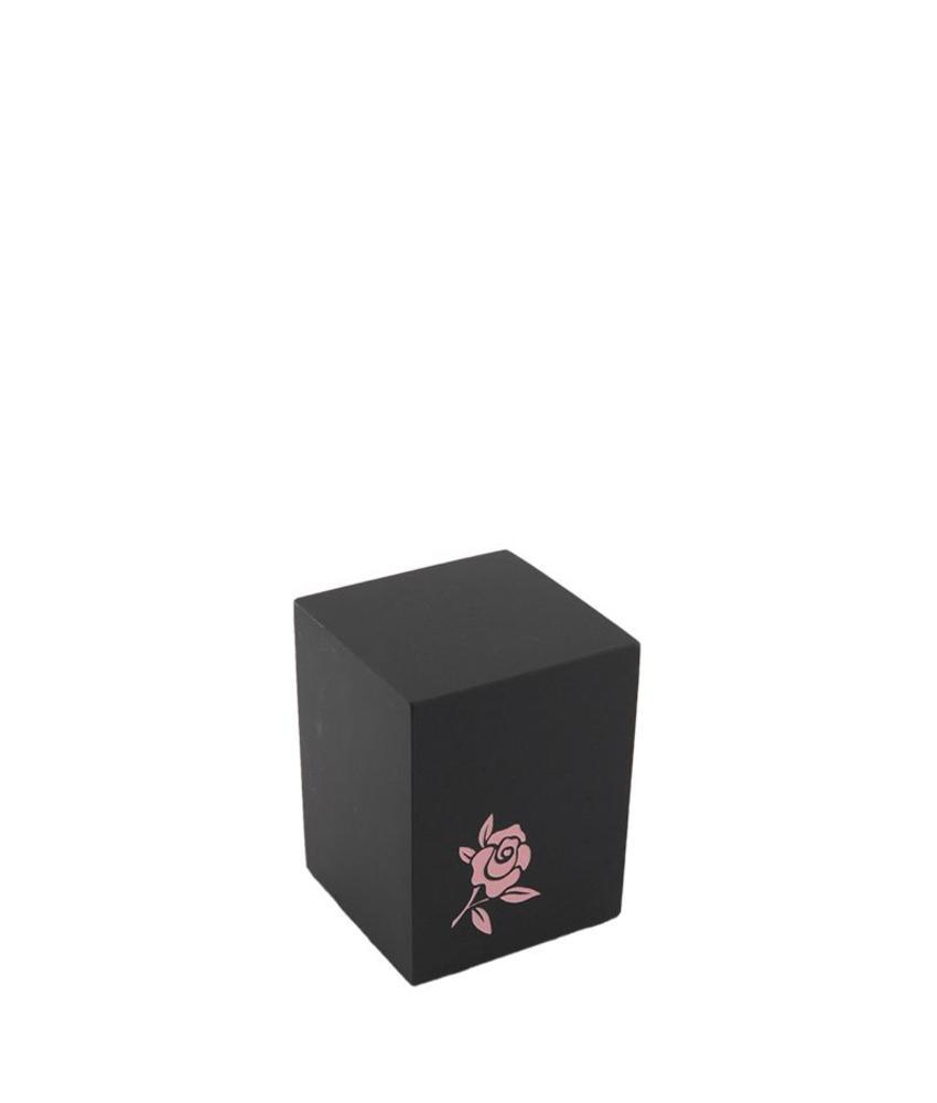 Mini urn rose - leisteen