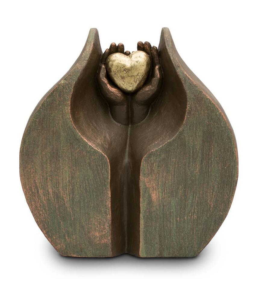 Geborgen liefde groot - keramiek