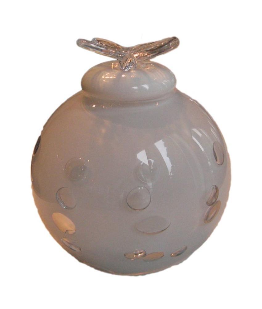 Vlinder urn - glas