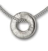 Ashanger cirkel 2 - 925 Sterling zilver