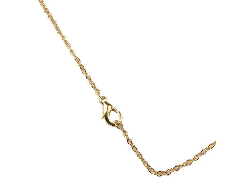 Halsketting RVS Goud - 65 cm