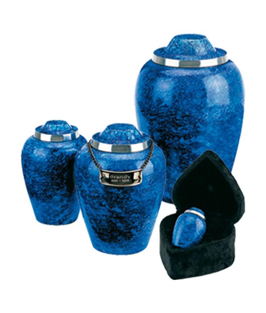 Cobalt blue alloy medium - aluminium