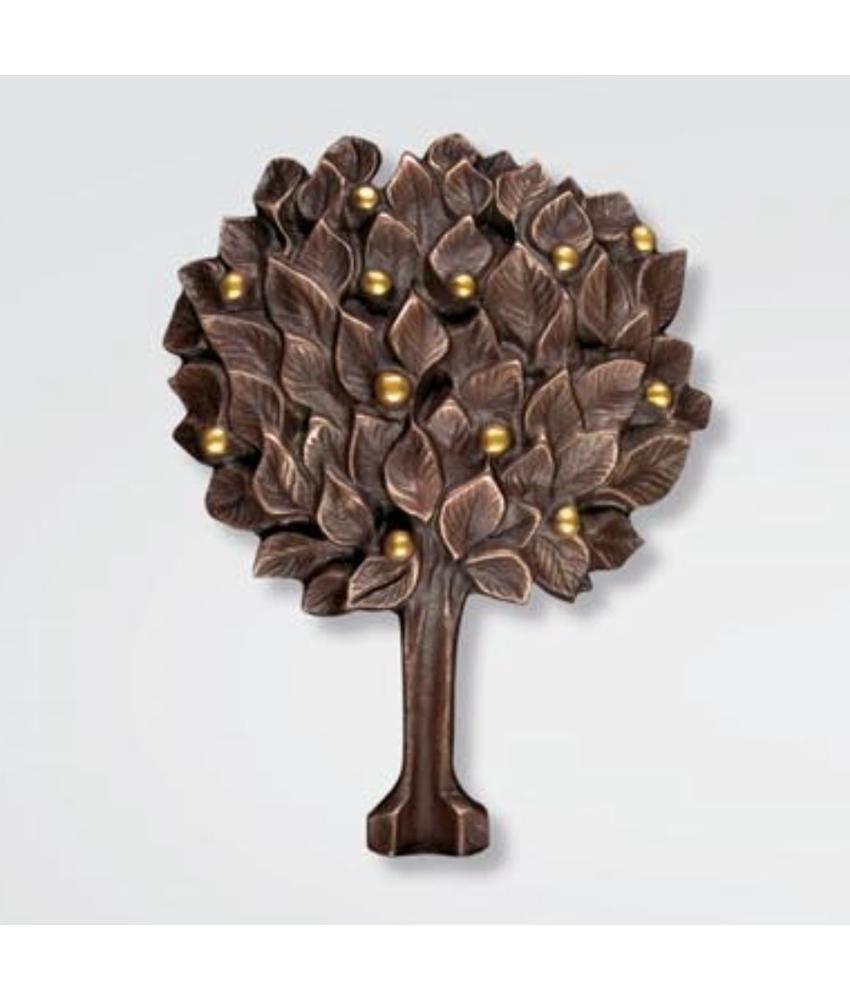 Bronzen Levensboom 'dicht' groot - brons