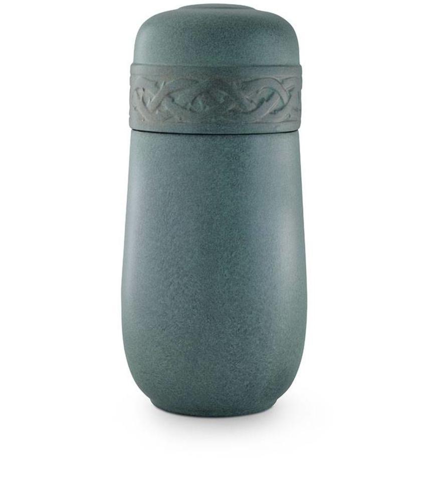 Keltische duo urn - keramiek